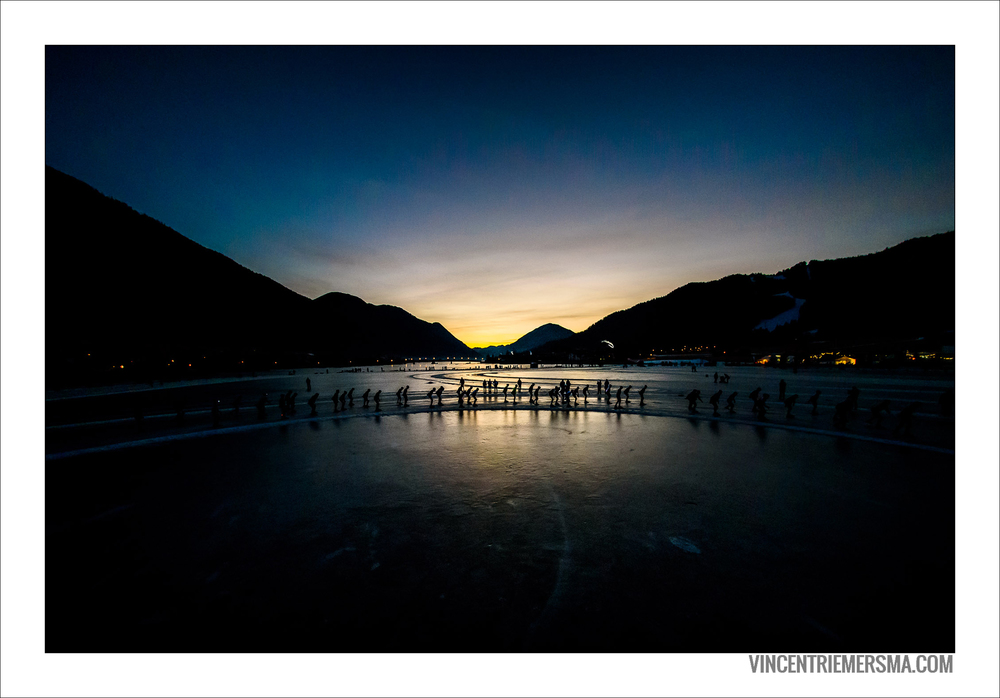 Weissensee in the morning
