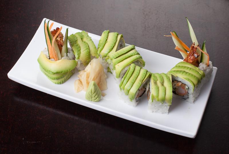 Kin Sushi Dragon Roll