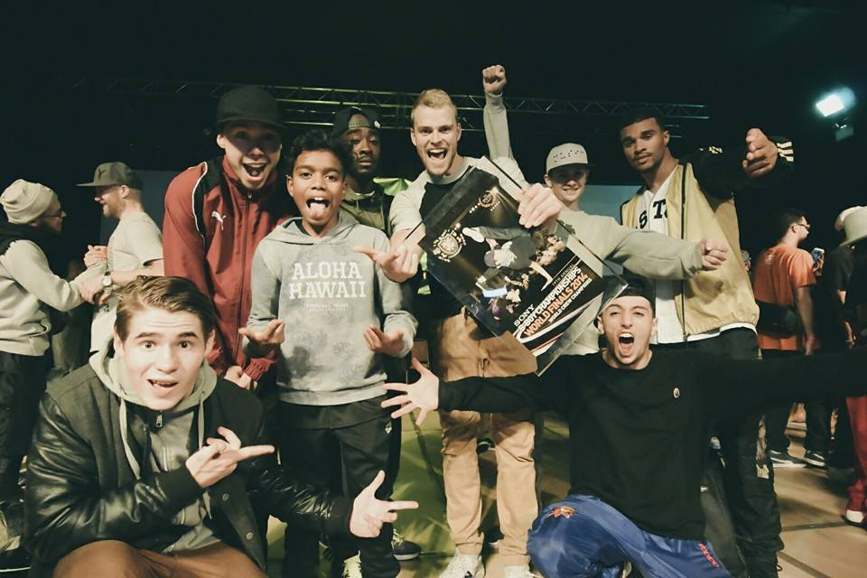 Winners UK Bboy Championships 2014