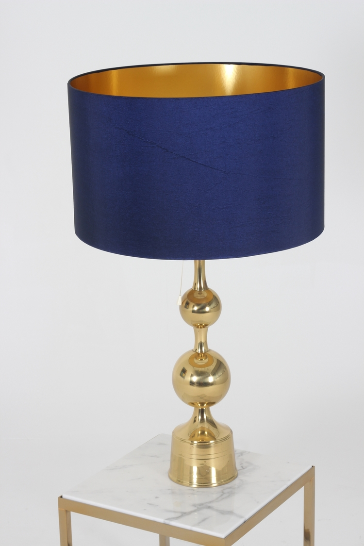 1960s Large Brass Table Lamp Scottlorenzo Com