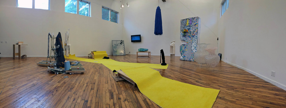 Pleasures of the Flesh (Installation view), 2015, Curated by Ellie Murphy and Kelly Parr, Outpost Artists Resources, Ridgewood Queens, New York, outpostartistsresources.org