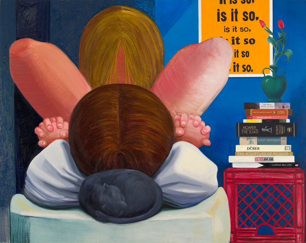 Nicole Eisenman, It Is So, 2014, oil on canvas, 65 × 82 inches. Courtesy of the artist, Anton Kern Gallery, New York; Galerie Barbara Weiss, Berlin; and Susanne Vielmetter, Los Angeles. Photo by John Berens.