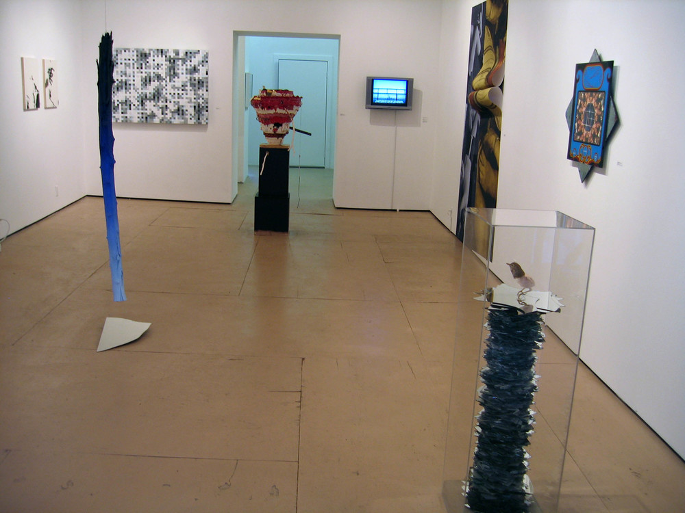 Intelligent Design, 2007, Guest organized by Rico Gatson and Ellie Murphy, Momenta Art Brooklyn, Installation view