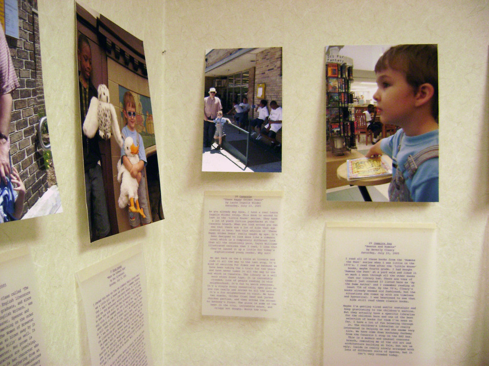 bioGRAPHY, 2007, Ink jet on matte photo paper and vellum, 60 photos and 60 pieces of writing (Dimensions variable installed at Grassmacks Gallery Minnesota)