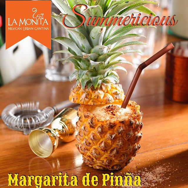 Celebrate Summer with a #Summerlicious Margarita de Piña! It's delicious and refreshing... a must try this Summer at La Monita Mexican Urban Cantina @emquatier @emdining g #EMDining #EMSummerlicious