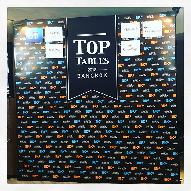 Thank you @bkmagazine for having us on Top Tables 2018. Also congrats to all the top 10s. Well deserve! @8020bkk @suhring_twins @robuchon_bangkok @gaggan_anand @pastebangkok @ledubkk @upstairsmikkellerbangkok  @sushimasato @bolanbangkok