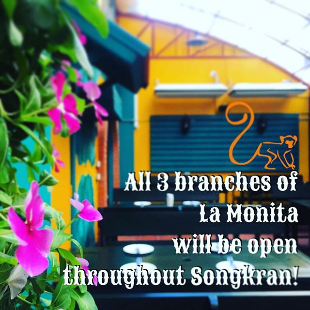 We'll be open in Songkran! Come by 💦🌮🌯🍻💦 Stay dry, order our food through Foodpanda! @foodpandathailand #songkran #foodpanda #tacos #bangkok #margarita #ploenchit