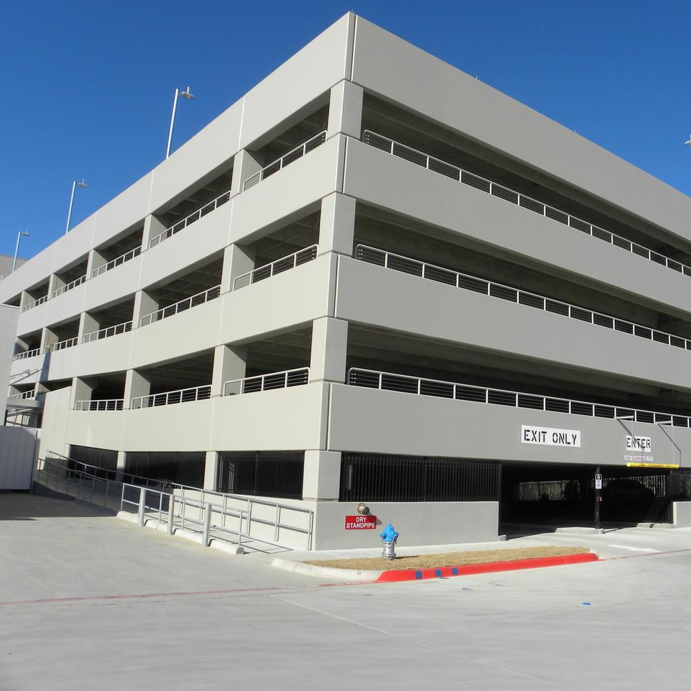 Collin College Parking Garage