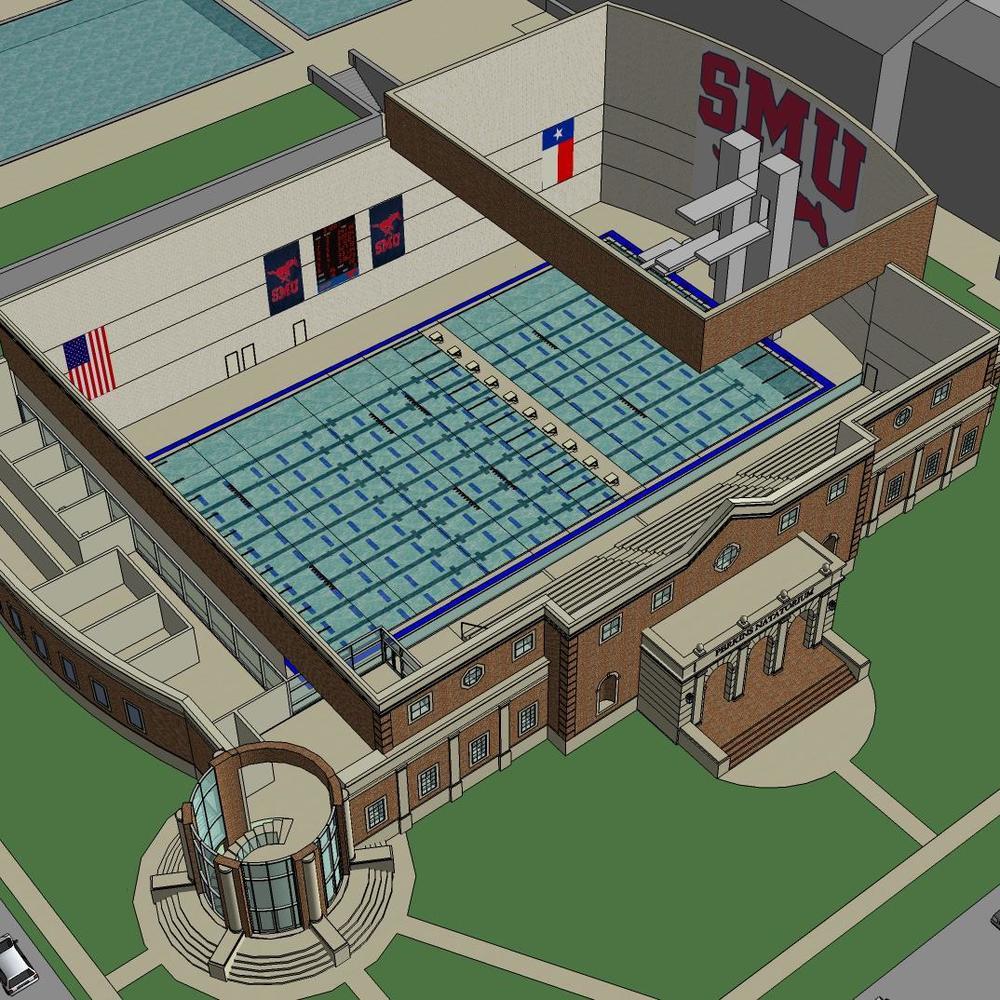 Southern Methodist University- Perkins Natatorium