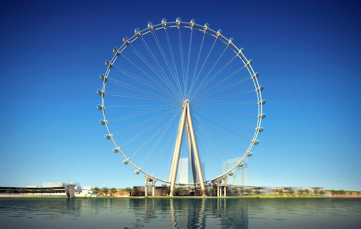 Large Observation Wheels are Susceptible to Wind-Induced Vibration that can Affect Occupant Comfort
