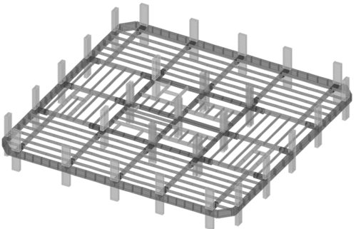 Structural Dynamics Model of Reinforced Concrete Floor in High Rise
