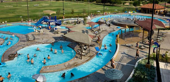 Texas tech University Leisure Pool