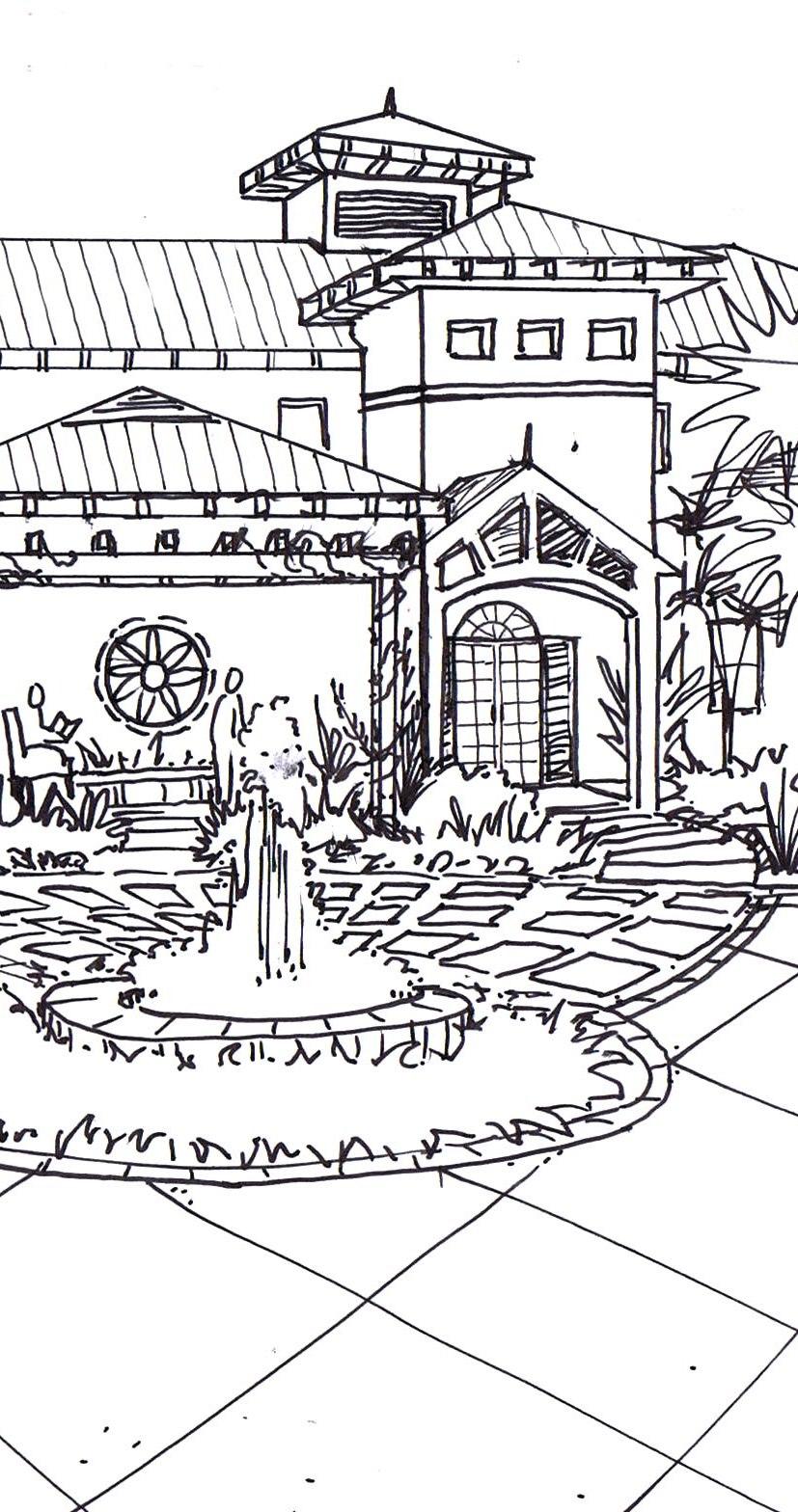 FPR3_BW_Sketch_Arrival Court B_032912_crop2.jpg