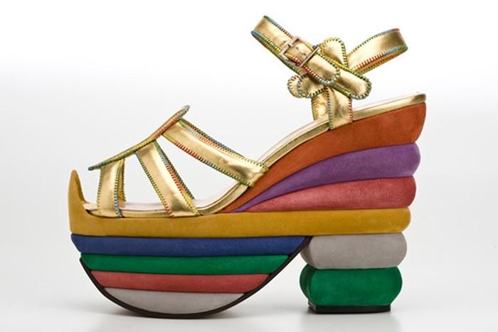 Ferragamo's Rainbow Creations