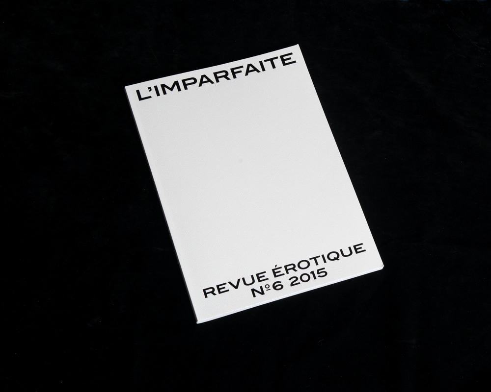 The progressive tense: erotic magazine L'imparfaite's aesthetic finale
