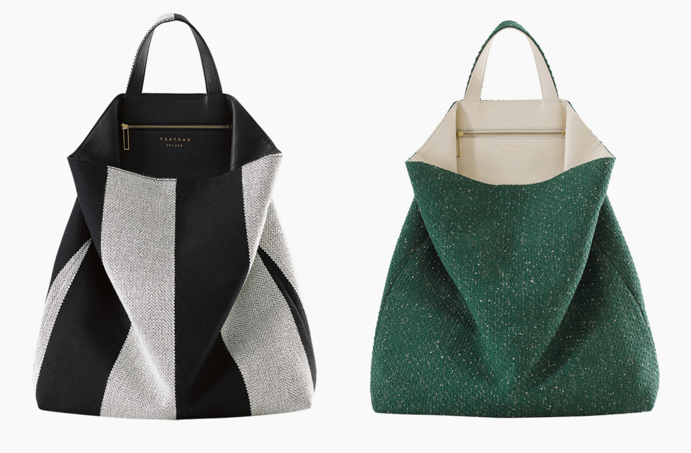 So far, so good: Tsatsas and Kvadrat bags are textile treats