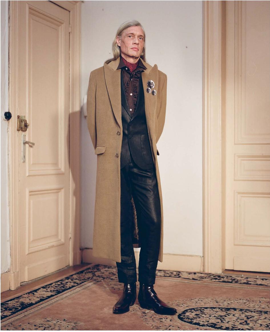 A Men's Wear Line With A Nostalgic Bent