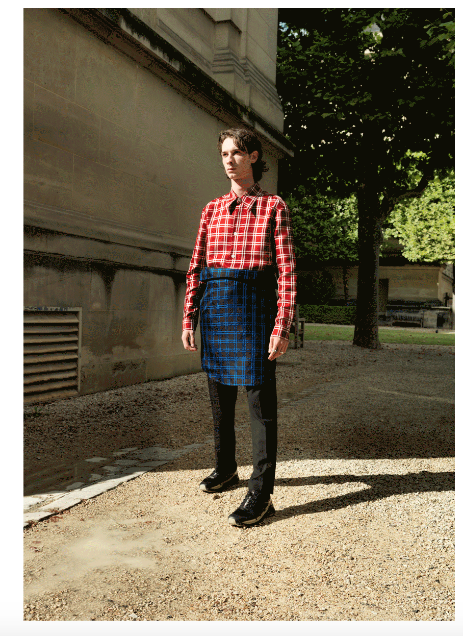 Men's Wear Inspired by a Swedish-Kurdish Upbringing
