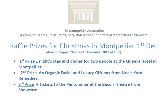 Three of many wonderful prizes