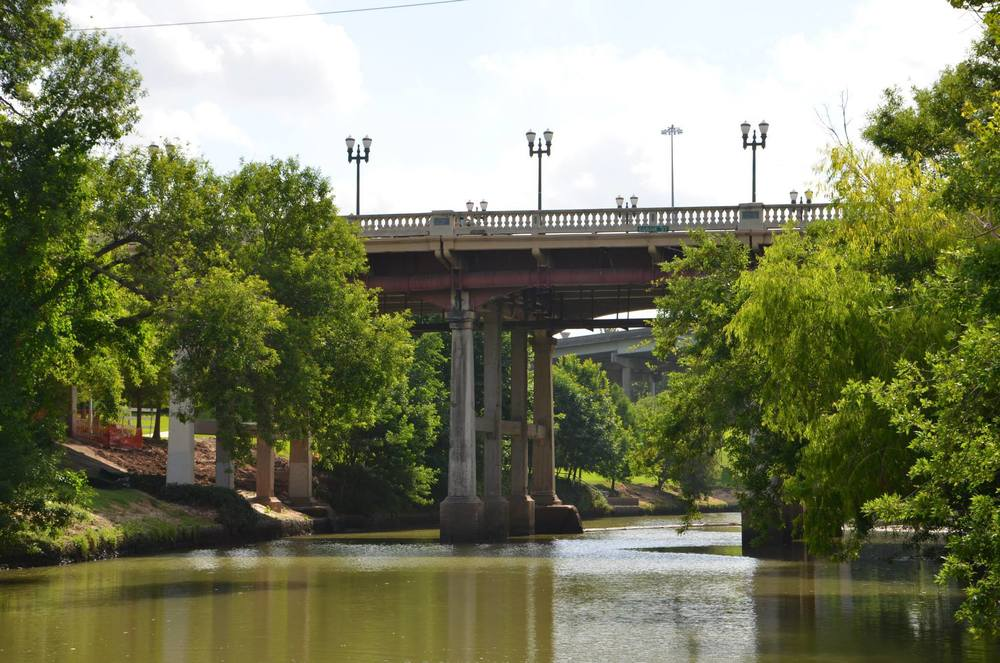 See the City from a new angle on Buffalo Bayou