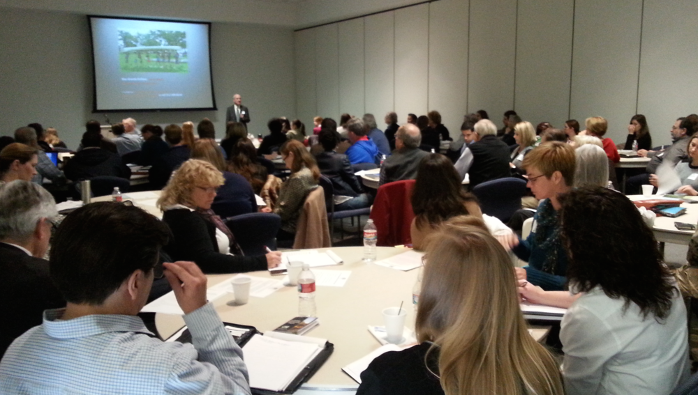 Attendees at Houston Wilderness' November Collaborative Access Presentation on TPWD grant opportunities