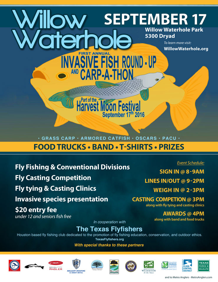 Participate in the 1st Invasive Fish Round-Up and Carp-A-Thon