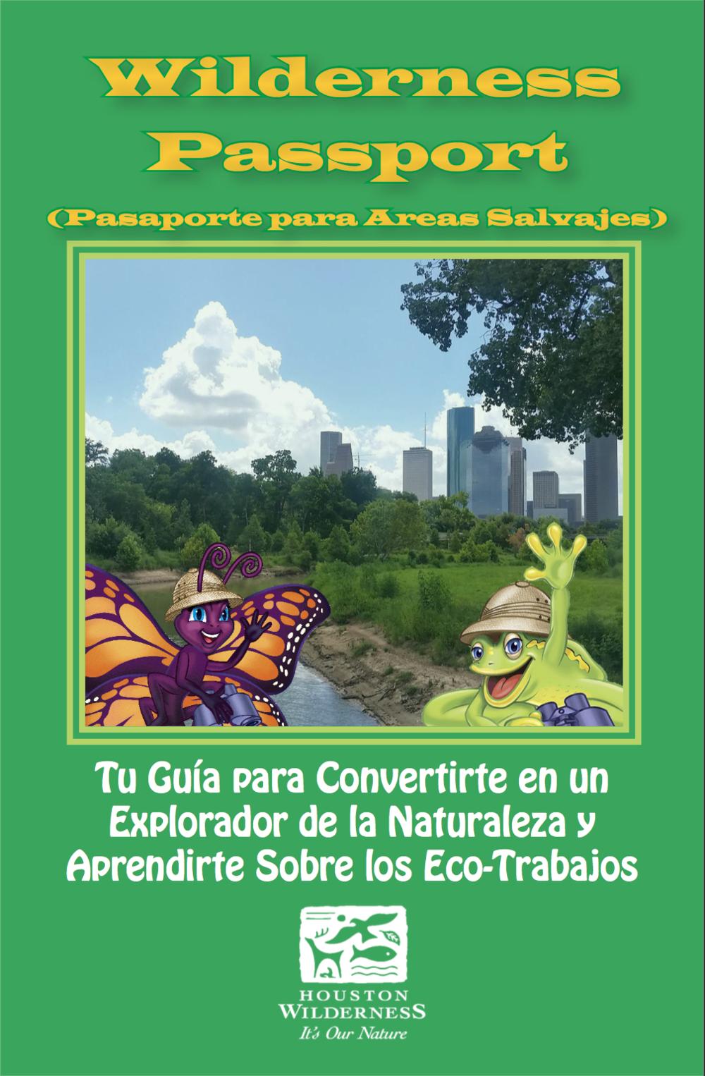 Pasaporte para Áreas Salvajes y Carreras en Conservación Ecologica (Español)