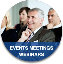 Events, Meetings, and Webinars