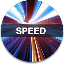 Speed - configuration is done in minutes