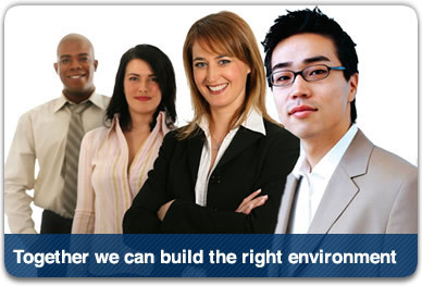Together we can build the right environent
