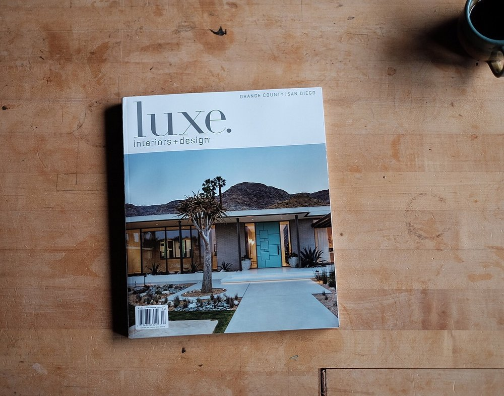 Luxe - In a recent interview with Luxe Magazine Kylle chats about some of his process and what inspires him.