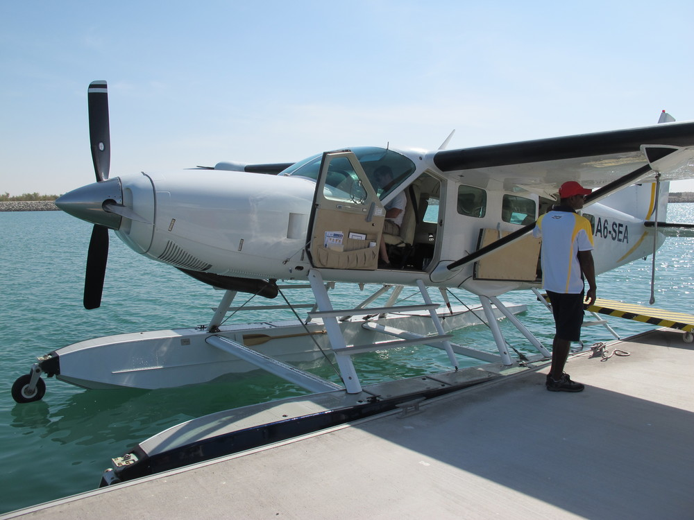 Abu Dhabi by seaplane is an incredible experience!