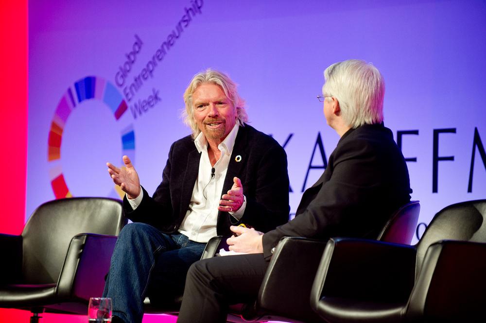 Sir Richard Branson at GEC 2012