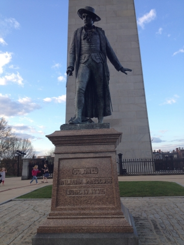 Colonel William Prescott Statue at Bunker Hill