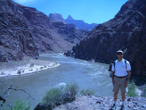 Tom in Grand Canyon