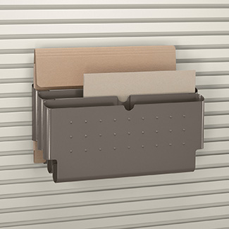 vertical file tray