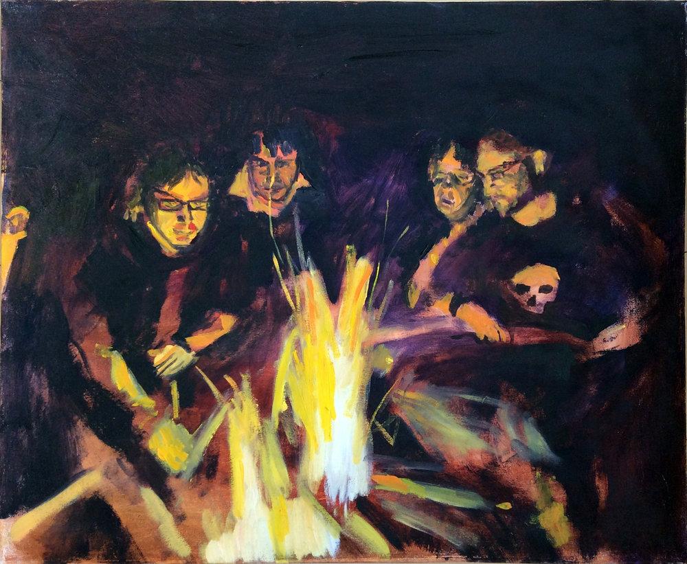 Fiddler's Island Fire