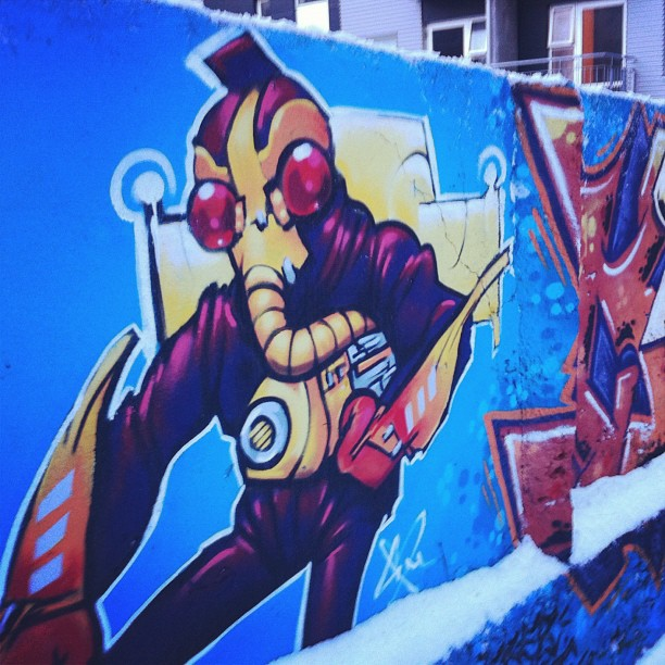 #rekjavik #streetart  (Taken with  Instagram  at Rekjavik)