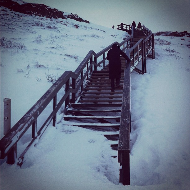 #iceland (Taken with Instagram at Gullfoss Waterfall)
