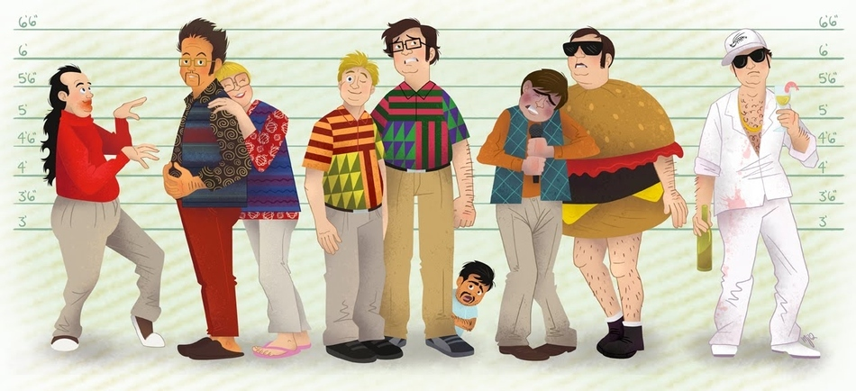 Tim and Eric as the characters in The Usual Suspects.