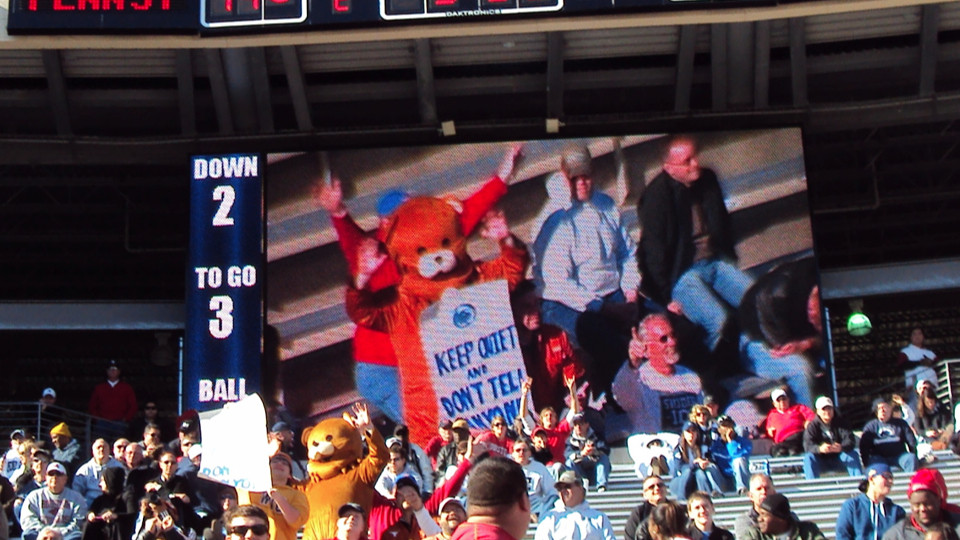 Pedobear at Penn St.
