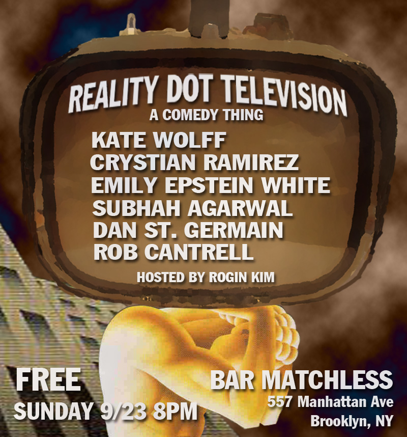 SUN 9/23 8PM FREE Bar Matchless 557 Manhattan Ave Brooklyn, NY