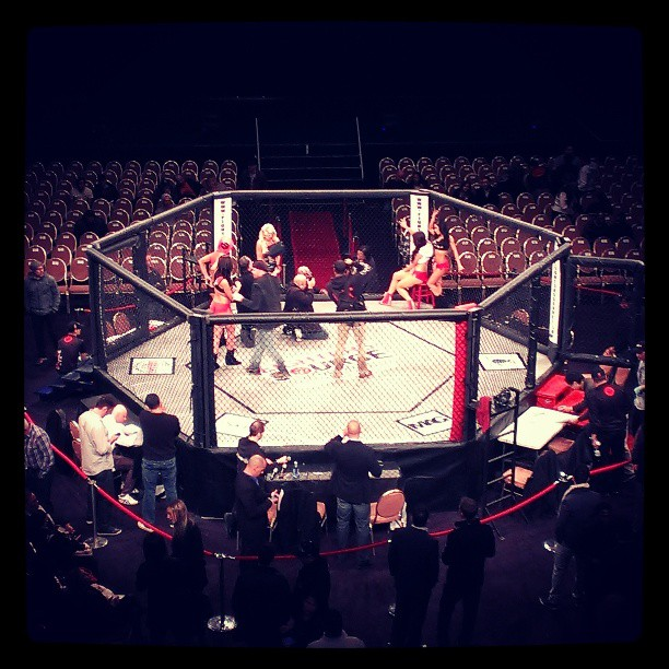 The first legal MMA event in NYC! #mma #nyc #wmma (at Hammerstein Ballroom)