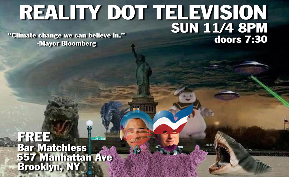 If you are in Greenpoint/Williamsburg on Sunday night, come down for a free comedy show!