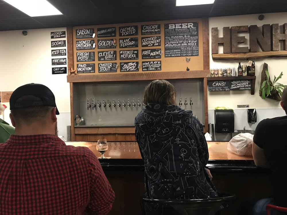 Henhouse Brewery in Santa Rosa California