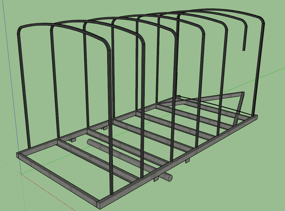 This is roughly what the frame looks like.