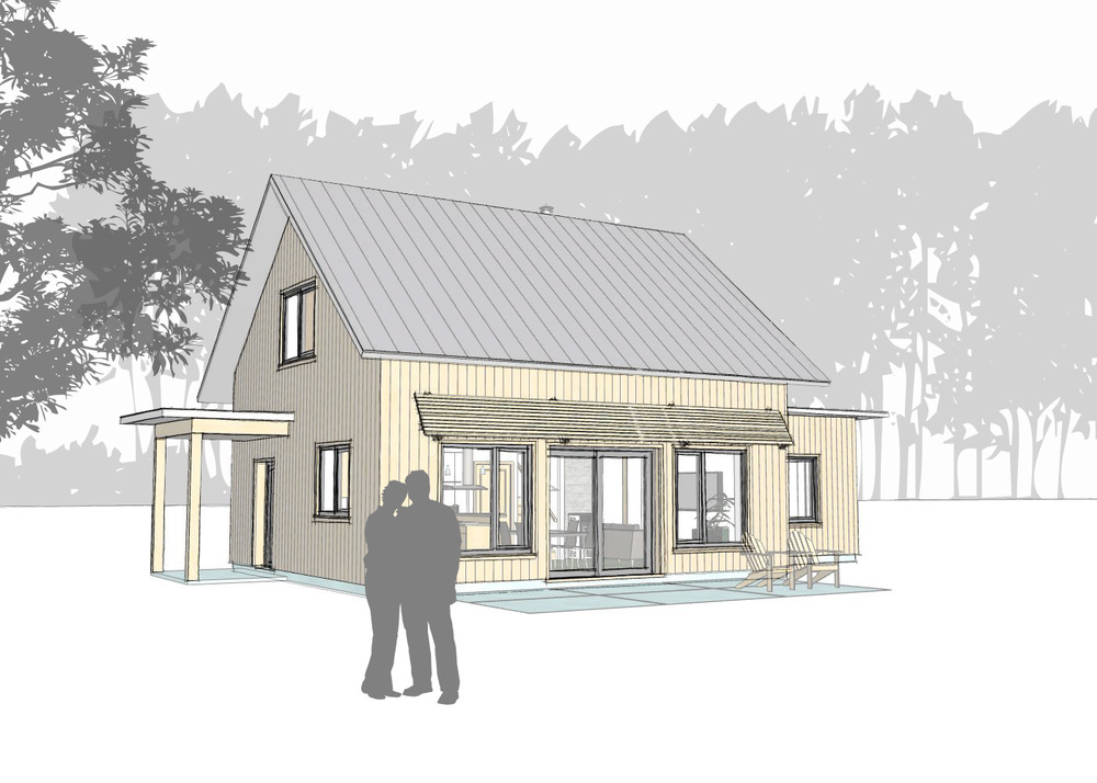 eFab Homes - Concept C (Gable) — Eco+Plan Design