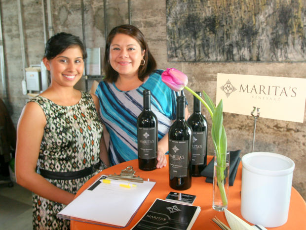 Tasting Room Associate, Meagan Horeczko, poses for a picture at the event
