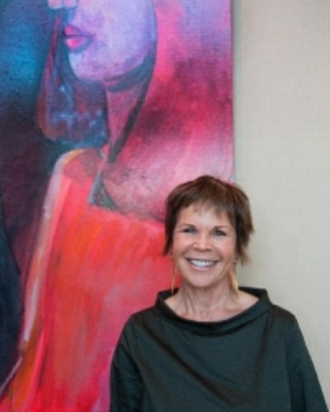 Georgette Osserman, Artist. Photo Credit : Rose Hodges