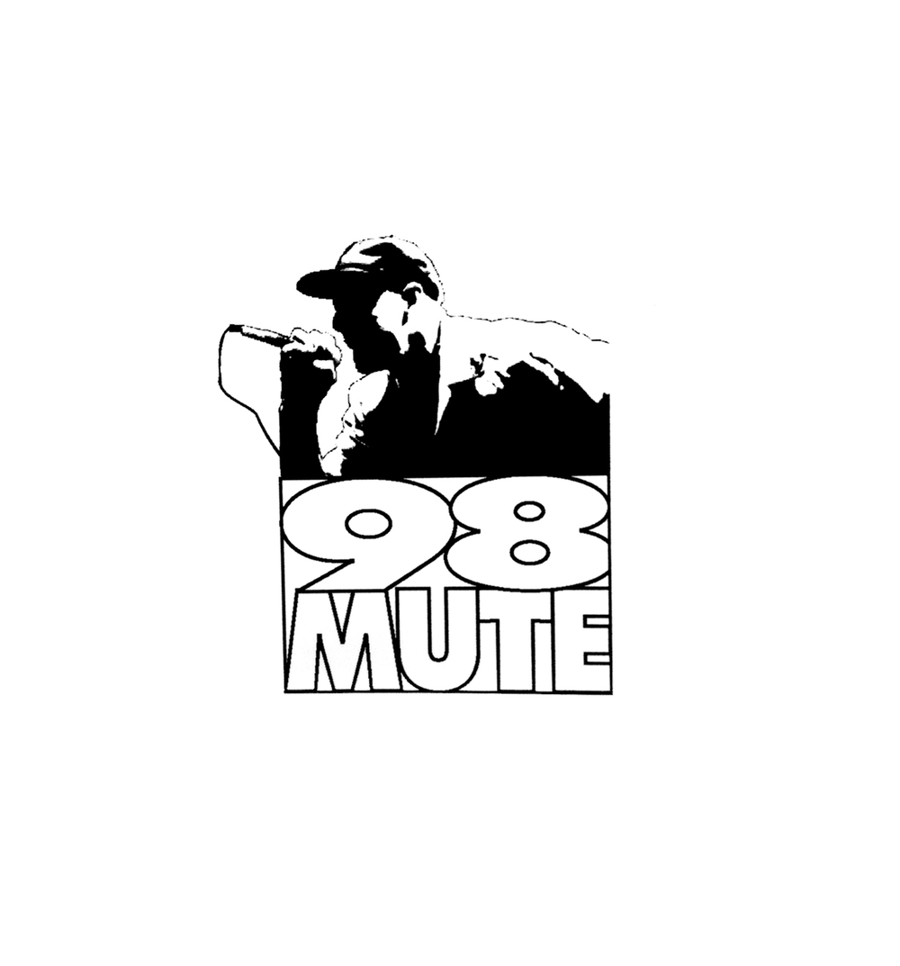 98 MUTE INC LOGO.   |   theologian records